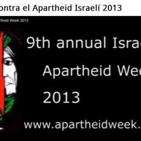 Novena Semana Anual contra el Apartheid Israelí (Febrero – Marzo2013)