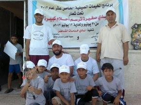 Los malagueños rescatan los campamentos infantiles de verano en Gaza frente al desplome de las ayudaspúblicas