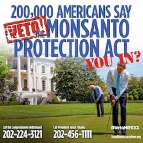 Monsanto y Obama en guerra química contra laNaturaleza