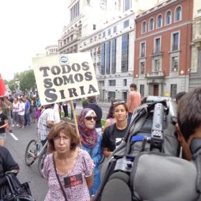 MPP se suma a la manifestación por Siria del 14 septiembre enMadrid