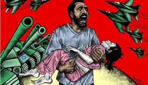 Genocidas que se ceban con los niños deGaza