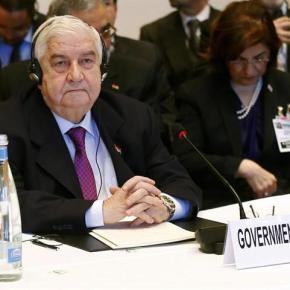 Canciller sirio acusa a Occidente de participar en el asesinato de civilessirios