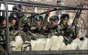 El ejército turco ayuda a los mercenarios extranjeros a entrar enSiria