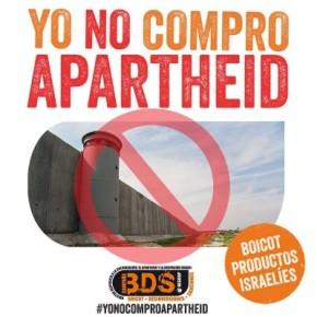 Yo no compro apartheid, ¡firma porPalestina!
