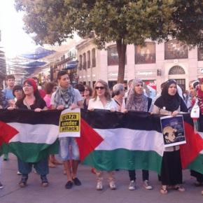 'Gaza sangrando, y el mundomirando'
