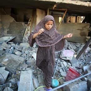 """Sin """"vuelta al cole"""" en Gaza por los bombardeosisraelíes"""