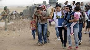La desesperación siria derriba la fronteraturca