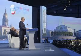 Foro Económico Internacional, San Petersburgo en el centro de laacción