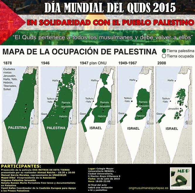 Cartel para el Día Mundial del Quds 2015 (3)