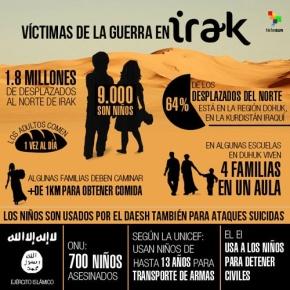 Grupo terrorista EI entrena a 217 niños para ataquessuicidas