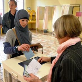 Musulmanes y votantes