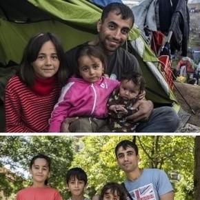 """Familia de refugiados reubicados en España desde Grecia: """"Aquí mis hijos pueden tener unfuturo"""""""