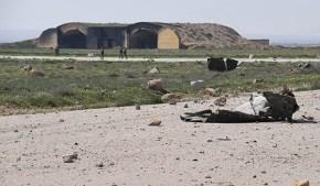¿Dónde están las armas químicas en la base deShairat?