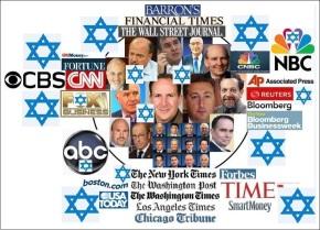 Seis compañías judías poseen el 96% de los medios delmundo