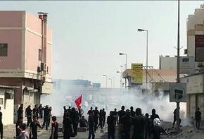 """""""Las Fuerzas del Régimen Bahreiní Atacaron a Decenas de Personas en las Procesiones de Luto de'Ashura"""""""