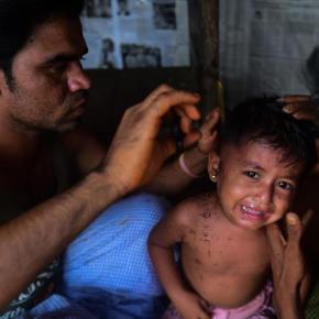 'Ejército de Myanmar quema vivos a los musulmanesrohingyas'