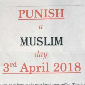 'Día del castigo a un musulmán' causa indignación en ReinoUnido