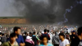 Israel amenaza a HAMAS con atacar Gaza si siguen conprotestas