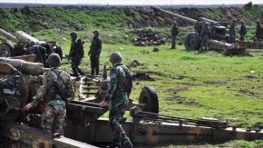 Hallan armas de la OTAN en un feudo de terroristas en Homs,Siria