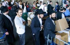 Los judíos se van de la Palestinaocupada