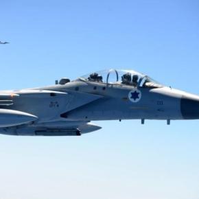 Aviones israelíes bombardeanGaza