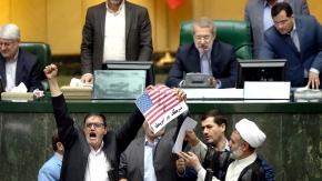 Parlamento de Irán declara 'terrorista' al Comando Central deEEUU