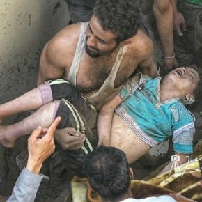 Ataque aéreo de Arabia Saudí en Saná, capital deYemen