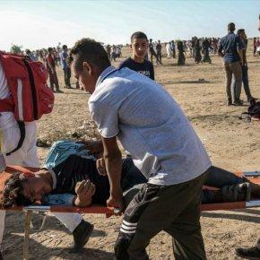 Al menos 40 palestinos heridos por ataques israelíes enGaza