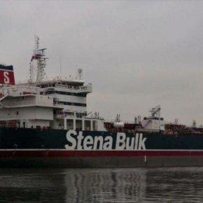 Irán detiene un petrolero británico en el estrecho deOrmuz