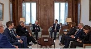 Presidente Al-Assad critica postura de mayoría de países europeos sobre realidad enSiria
