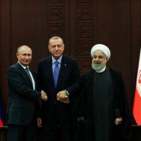 Irán, Rusia y Turquía apoyan a Siria y objetan ofensivasisraelíes