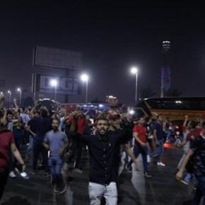 Salen manifestantes a las calles de Egipto contra políticas gubernamentales y lacorrupción
