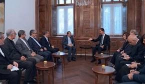 Al-Assad destaca coordinación sirio-ruso-iraní para crear el Comité Constitucionalsirio