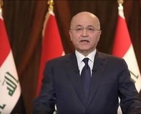 El presidente iraquí anuncia medidas de reforma y pide el fin de laescalada