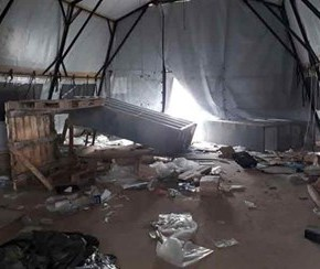 EEUU evacúa y destruye sus bases militares enSiria