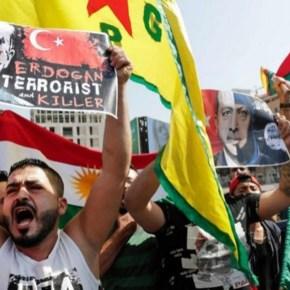 Multitudinarias manifestaciones en varios países europeos condenan el ataque turco aSiria