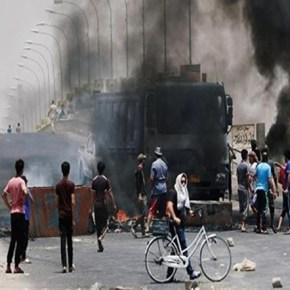 Violentas manifestaciones en varias zonas deIrak