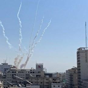 Horas después de entrado en vigor el alto al fuego disparan cinco cohetes desde Gaza hacia territoriosocupados