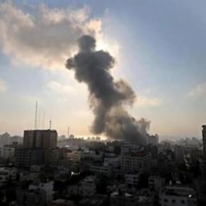 Aviones de combate israelíes atacan a la resistencia palestina en la Franja deGaza