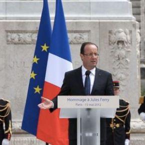 Reconstitución del bando francés de lacolonización